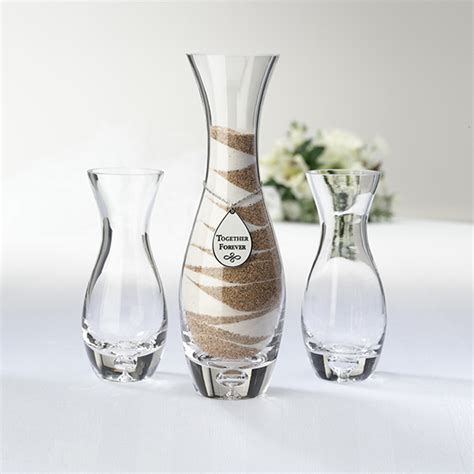 Sand Ceremony Vases by Wedding Unity Sand Ceremony Vase Kit