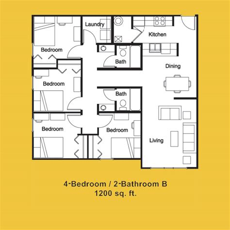 4 bedroom apartments near ucf northgate lakes floor plans orlando student apartments