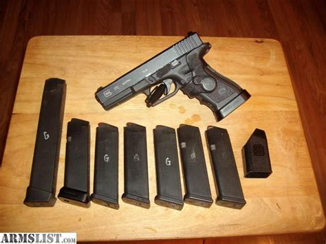 Holster Glock 17 Pobus armslist for sale glock 17 c with lots of extras mags holsters an plus two mag base plates