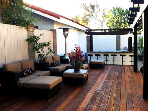 Backyard Lounge Ideas Contemporary Backyard Kitchen Schmutzler Hgtv