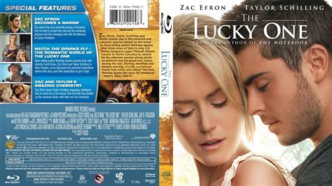 one lucky the lucky one scanned covers the lucky one bluray dvd covers