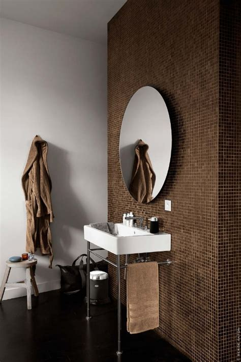 brown tiles for bathroom 40 brown mosaic bathroom tiles ideas and pictures