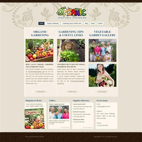 kompozer templates free gardening website template free website templates