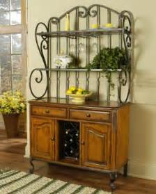 Bakers Wine Racks Furniture Bakers Rack Wrought Iron And Wine Racks On
