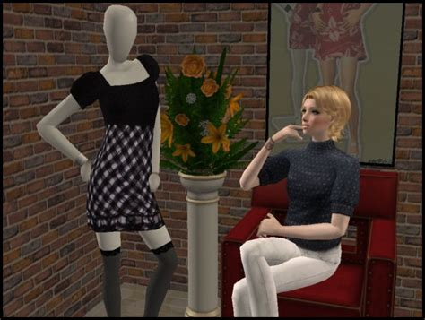 mod  sims  clothes   mannequin