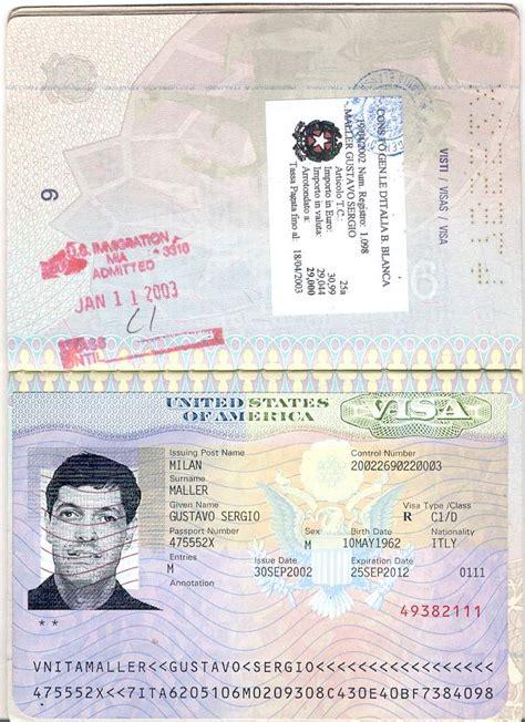 italian passport template gustavo s maller