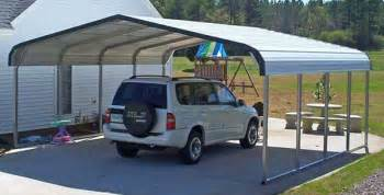 Steel Carport Shelter Metal Shelters For A Car Rv Boat Or Animal Shelter