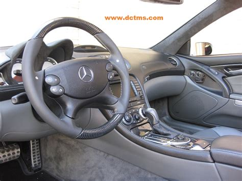 Sl55 Interior by Sl55 With Carbon Fiber Steering Wheel And Interior Panels