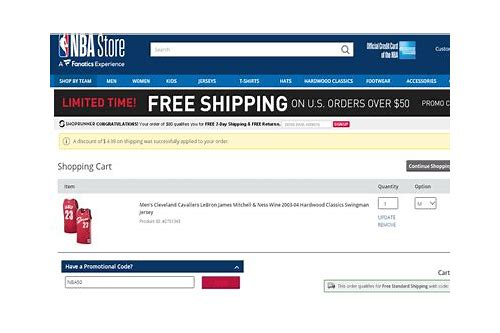 nba store online coupon code