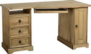 Corona Corner Desk Corona Distressed Waxed Pine Corner Computer Desk 163 199 00 Tbs Discount Furniture A Large