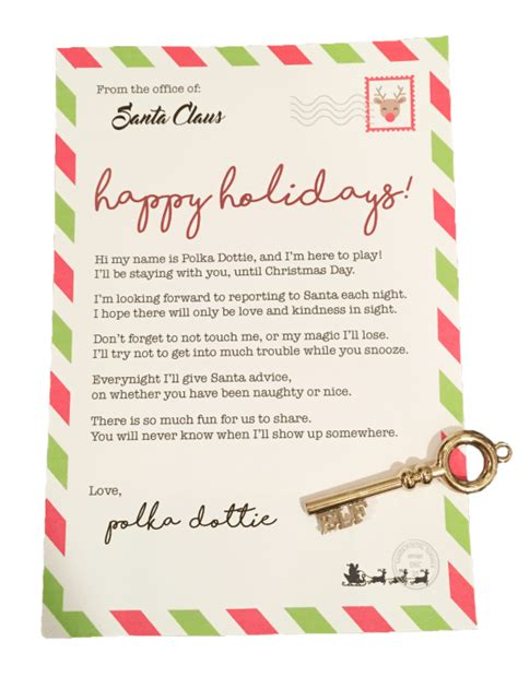 elf on the shelf arrival letter free download smudgey