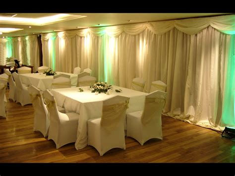 wedding venue draping wall draping for wedding