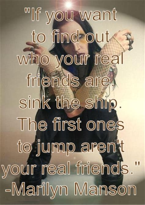 Find Who Want To If You Want To Find Out Who Your Real Friends Are Sink The Marilyn