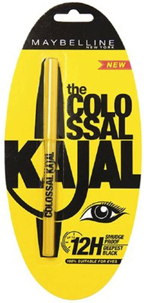Maybelline Kajal maybelline colossal kajal smudge proof 0 35 g price in