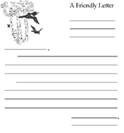 friendly letter template pdf friendly letter template pdf letter template 2017