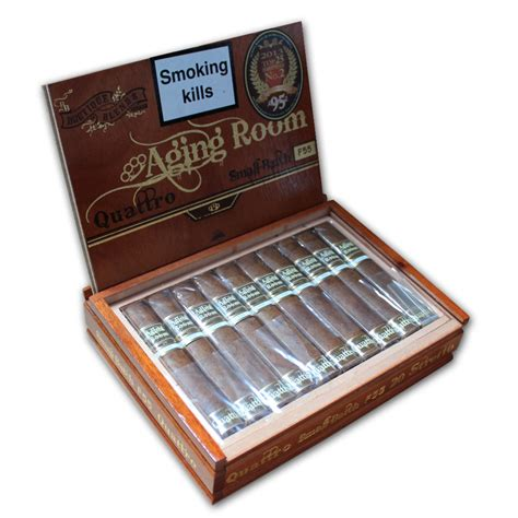 Aging Room Cigars by Aging Room Quattro Stretto Cigar Box Of 20