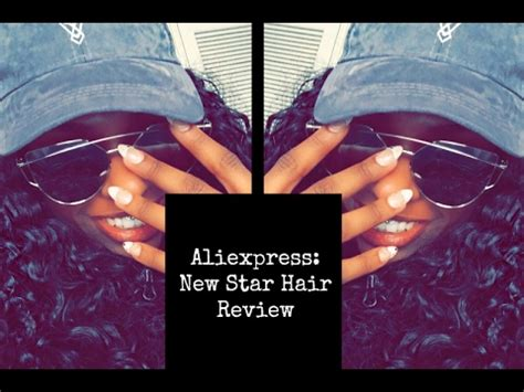 where d you get your hair aliexpress new hair review