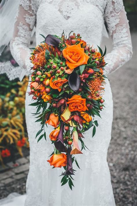 Fall Flower Arrangements Wedding by 10 Ideas For Fall Wedding Flowers That Will Make Your