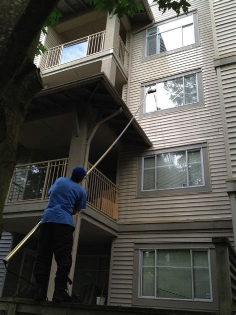 STRATA Window Washing & Power Washing Richmond   A Glass Act