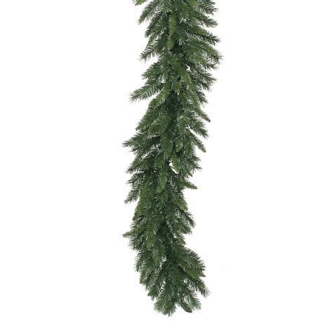 9 foot x 16 inch imperial pine garland unlit a877217
