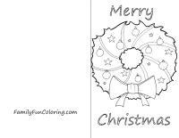 printable christmas cards for kids to color printable cards to color familyfuncoloring