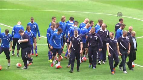 Iceland Football Team Iceland National Football Team Session In Turkey