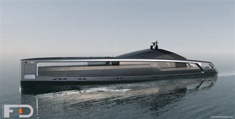 car boat design the 328 maximus superyacht concept has a hull made of
