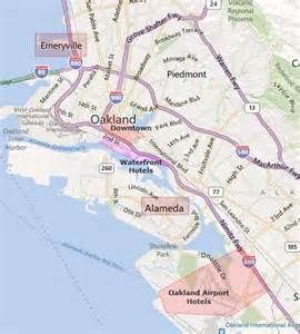 oakland ca map