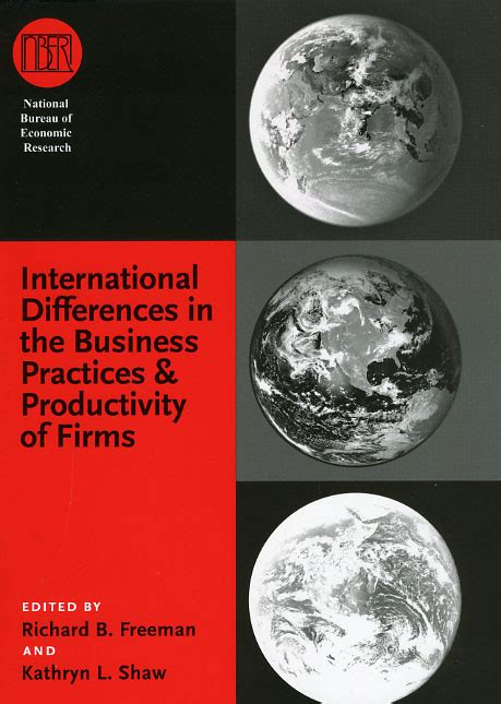 productivity the difference books international differences in the business practices and