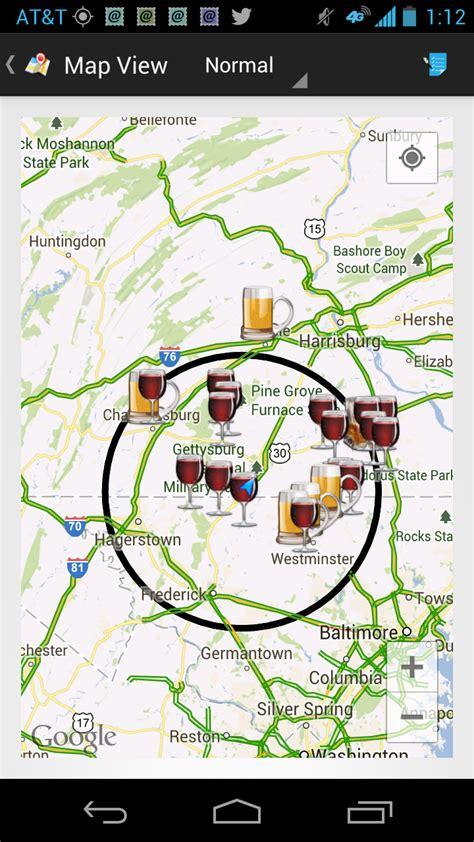 maryland breweries map winecompass may 2013