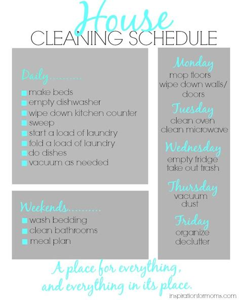 how to keep a clean house schedule best 25 house cleaning schedules ideas on pinterest