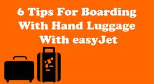 6 tips for boarding with baggage with easyjet