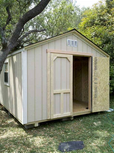 10x10 Wooden Shed by Backyard Barns Wood Storage Sheds San Antonio