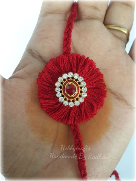 Handmade Rakhi Designs - best 25 handmade rakhi ideas on pearl