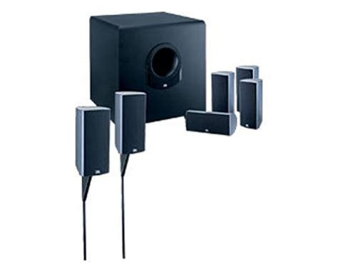jbl scs160si 7 150 watt home theater speaker system