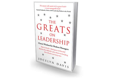 The Greats On Leadership Oleh Jocelyn Davis 41 books to motivate you to become your best self success