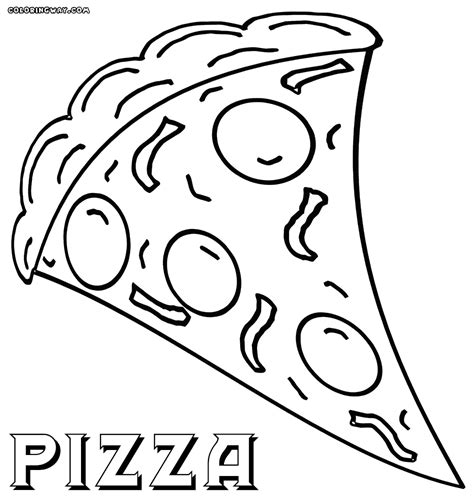 pizza coloring pages coloring pages to download and print