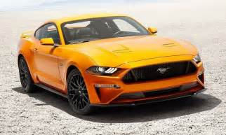 2018 ford mustang brings design updates loses v6 engine