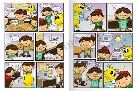 Komik Anak Jld 1 komik buku pendidikan ilustrasi buku