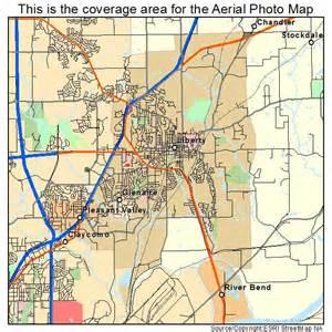 map of liberty aerial photography map of liberty mo missouri