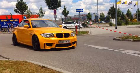Bmw 1 Series Coupe Engine Problems by This Bmw 1 Series Has A 4 Liter S65 V8 The Bonnet