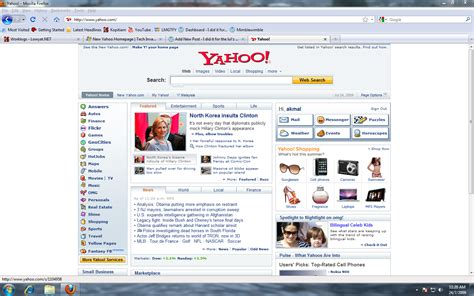 new yahoo homepage is i did it for the lul z