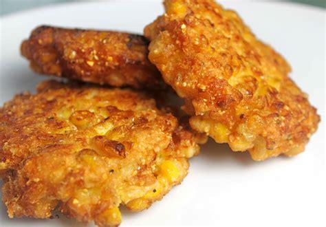 creamed corn fritters recipe dishmaps