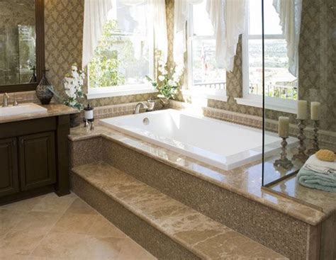 bathtubs with steps modern jet tub with step willowsford home master bath pinterest