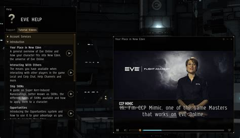 tutorial eve online tutorial videos eve online
