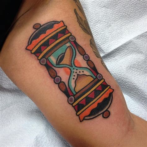 traditional hourglass tattoo 85 best hourglass designs and meanings time is