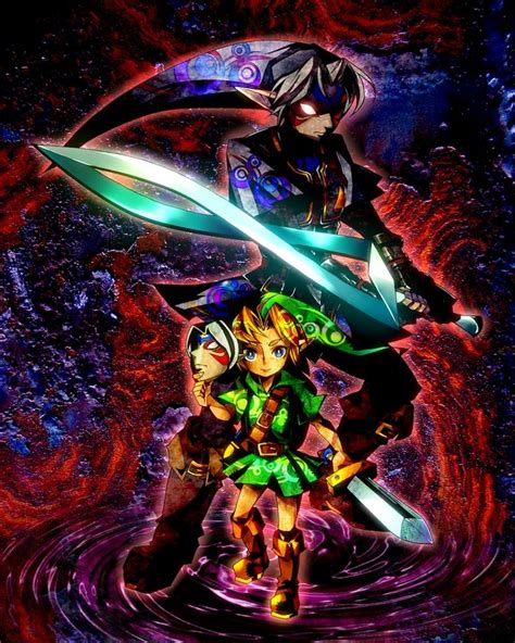 The Fierce by Oni Link Majora S Mask Legend Of That