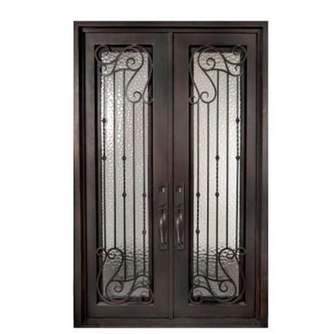 iron doors unlimited 62 in x 98 in armonia classic