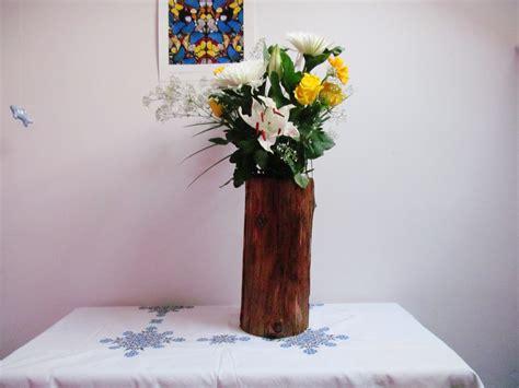 Tree Stump Vase by Diy Tree Stump Vase