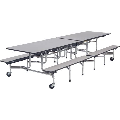 cafeteria bench virco mobile bench cafeteria tables schoolsin